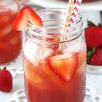 Strawberry Tea (Ice)